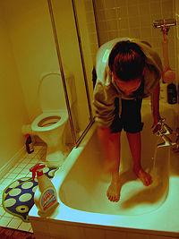 Cum se desfunda gura de scurgere la cada de baie