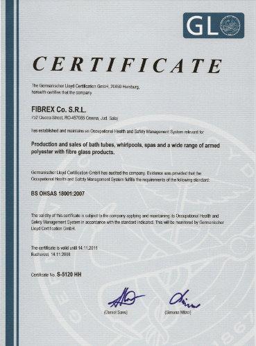 Sistemul de Management al Sanatatii si Securitatii Ocupationale OHSAS 18001-2004