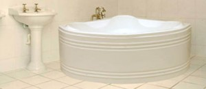 Cada de baie pe colt Nory