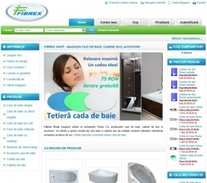 Fibrex Shop - magazin cazi de baie si cabine de dus
